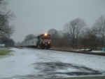 NS 260/ Another roadrailer picking up & putting down
